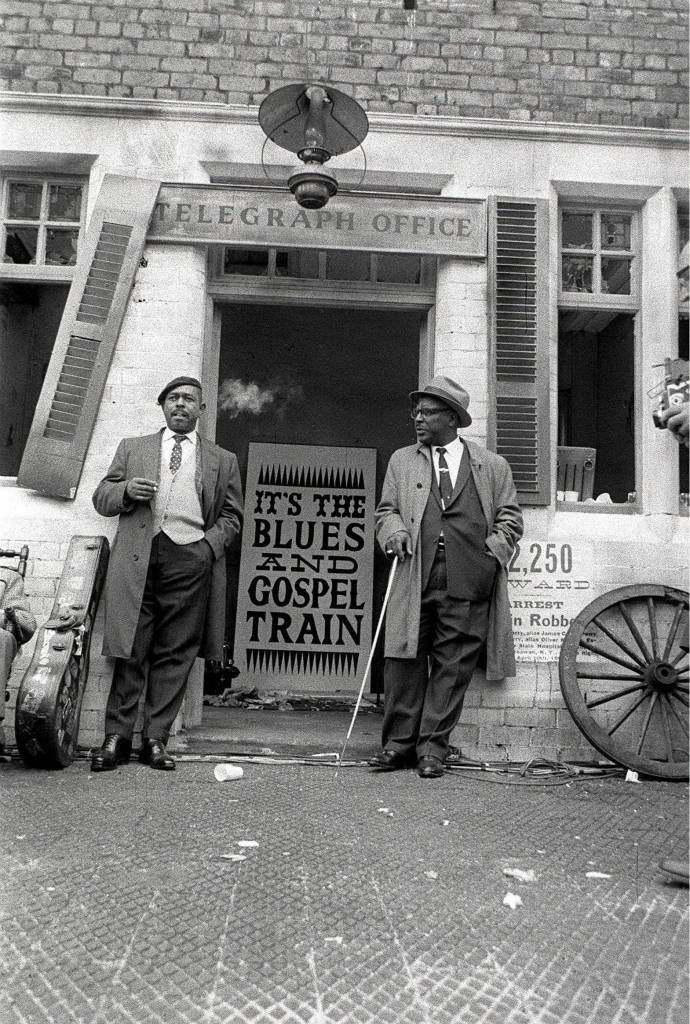 Sonny Terry (R) and Brownie McGhee