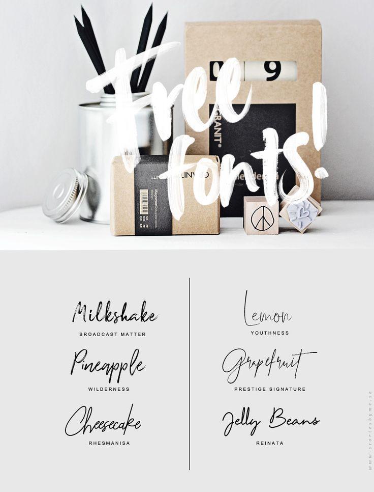 Free signature fonts – #Fonts #Free #Logo #signatu…