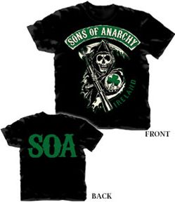Sons of Anarchy new Fall shirts  | SONS OF ANARCHY Ireland Shirt SOA