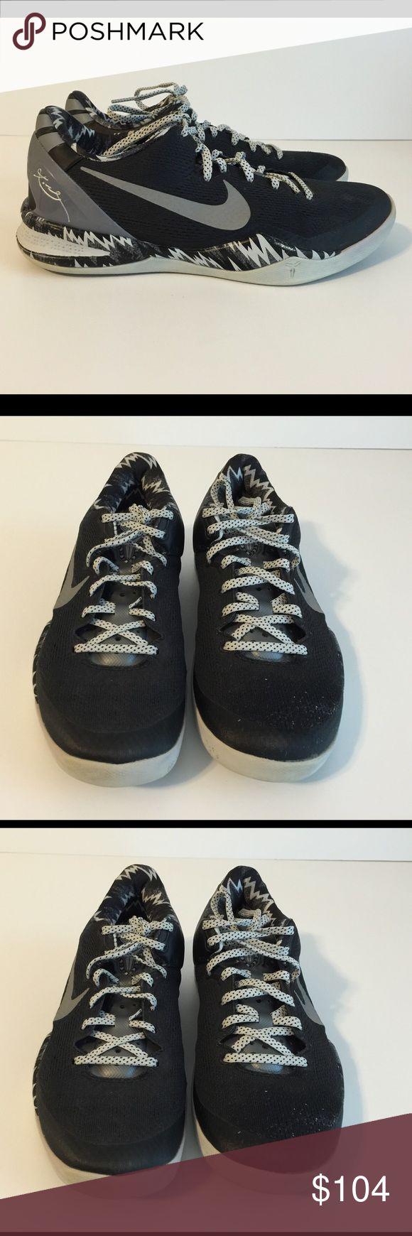 Cheap Nike Kobe 8 PP Black White Silver 613959 001