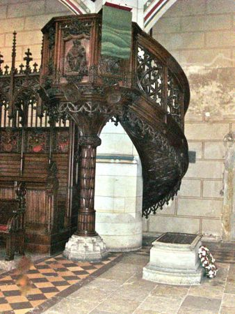 Martin Luther's Grave, Wittenberg, Germany