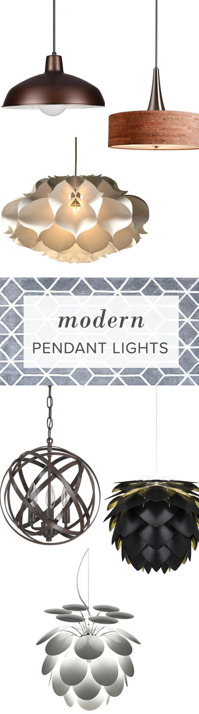 Make a statement with a beautiful, bold pendant. Whether it's for your living room, kitchen or bedroom, AllModern has affordable modern pendants to achieve that finishing touch. FREE SHIPPING on orders over $49.