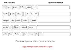 conciencia-fonologica-frases  Trabajar con palabras
