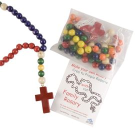 Make-Your-Own Rosary kit-Holy Cross Family Ministries Online Store: Freebies Worldwid, Worldwid Freebiesworldwid, Catholic, Rosaries Kits Holy, Crosses Families, Kits Holy Crosses, Deals Freebies, Complimentary Rosaries, Freebiesworldwid Complimentary