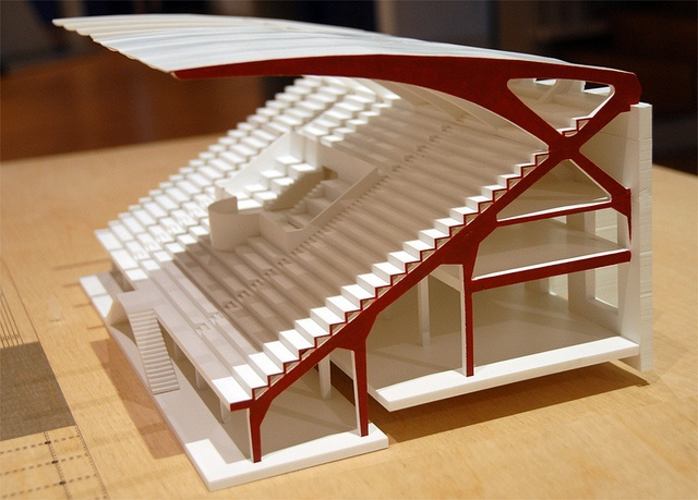 Pier Luigi Nervi scale model made by Materialise by Materialise Group, via Flickr
