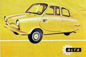 Eταιρεία κατασκευής / συναρμολόγησης μοτοποδηλάτων στην Αθήνα από το 1962.Αγοράζει και αυτή την άδεια κατασκευής του FULDAMOBIL. Τα καλούπια αλλάζουν και εμφανίζεται στην αγορά το ALTA 200.