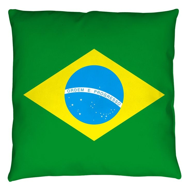flag of brazil to color