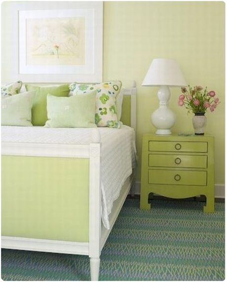 1000 ideas about lime green bedrooms on pinterest green - Lime green walls in bedroom ...