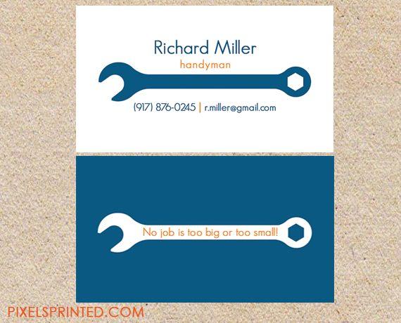 Handyman business cards vatozozdevelopment handyman business cards colourmoves