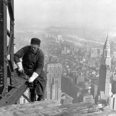 What was special about the construction of the Empire State Building? It was built quickly and under budget.