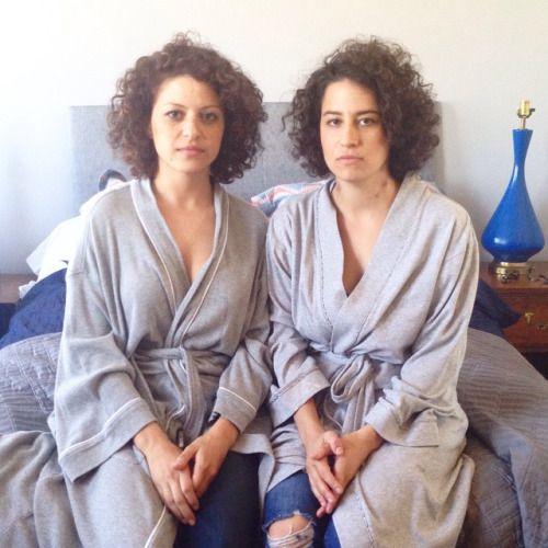 Get a new hair cut! Maybe something similar to Alia Shawkat & Ilana Glazer.