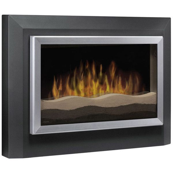 Dimplex Sahara Wall Mounted Electric Fireplace found on Polyvore