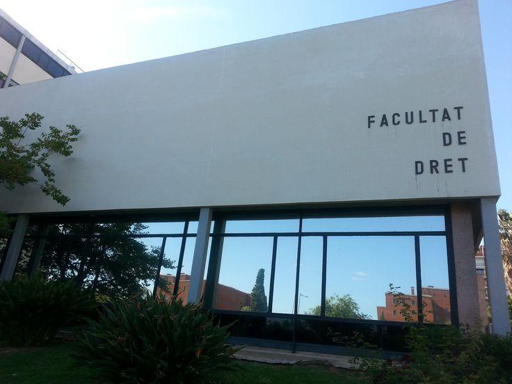 University in Barcelona. Faculty of Law