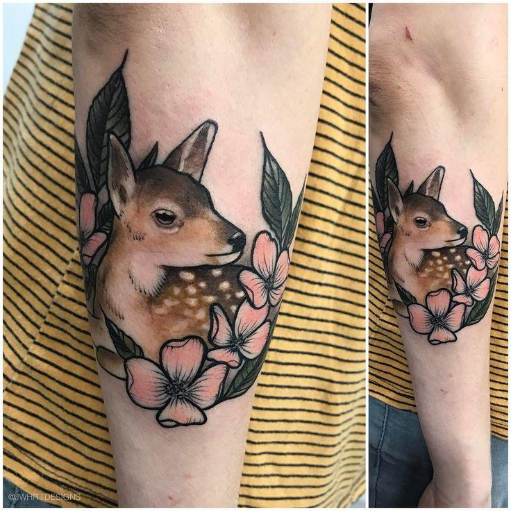 the 25 best baby deer tattoo ideas on pinterest doe tattoo fawn tattoo and deer art. Black Bedroom Furniture Sets. Home Design Ideas