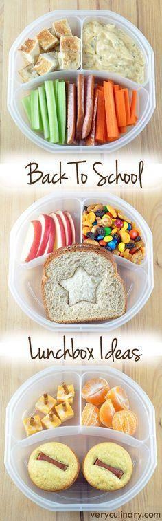Ideas de Menús para la Vuelta al Cole   Meal Ideas for Back to School #creativerecipes
