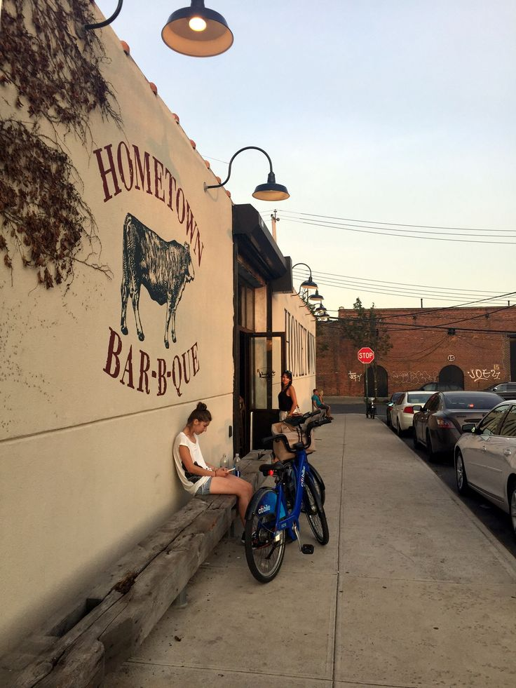 Hometown BBQ in Red Hook - a must eat when spending the day in Red Hook