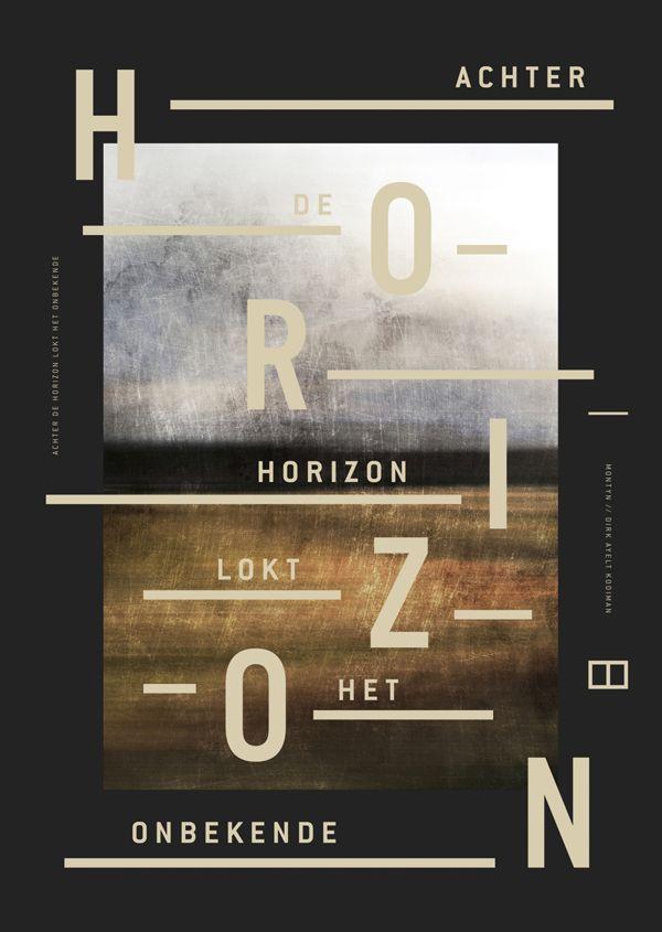 Achter de horizon lokt het onbekende by Milan van de Goor, via Behance