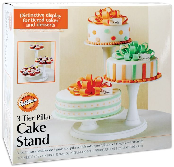 WANT THIS! - 3 Tier Pillar Cake Stand