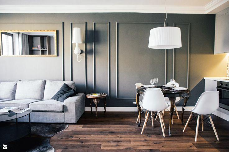 Salon styl Eklektyczny - zdjęcie od Raca Architekci - Salon - Styl Eklektyczny - Raca Architekci
