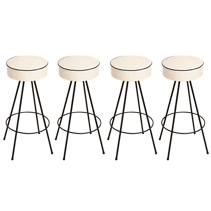 Want: Set of Four 1950's Bar Stools for the kitchen ($900)