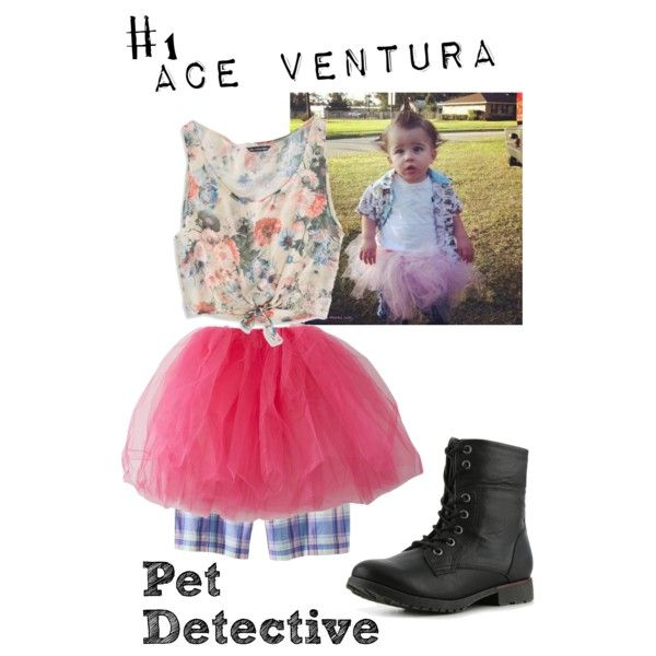 """Ace Ventura Costume"" by hannahnyp on Polyvore"