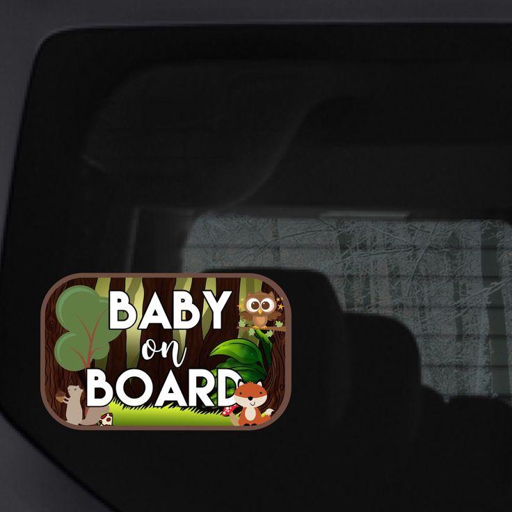 Woodland baby on board