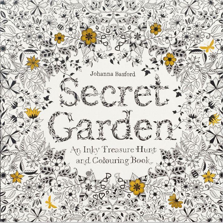 Znalezione Obrazy Dla Zapytania Secret Garden Coloring Book