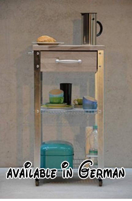 B007QSZ25W  Jan Kurtz 495958 Küchenwagen Cook 45 Gestell verzinkt - küchenwagen mit schubladen