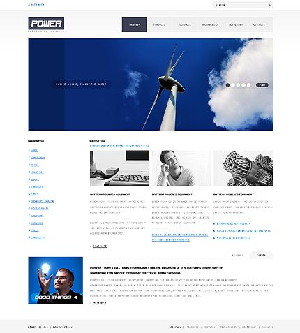 Power Energy Drupal Templates by Astra