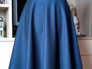 Шьем юбку-полусолнце   Ярмарка Мастеров - ручная работа, handmade
