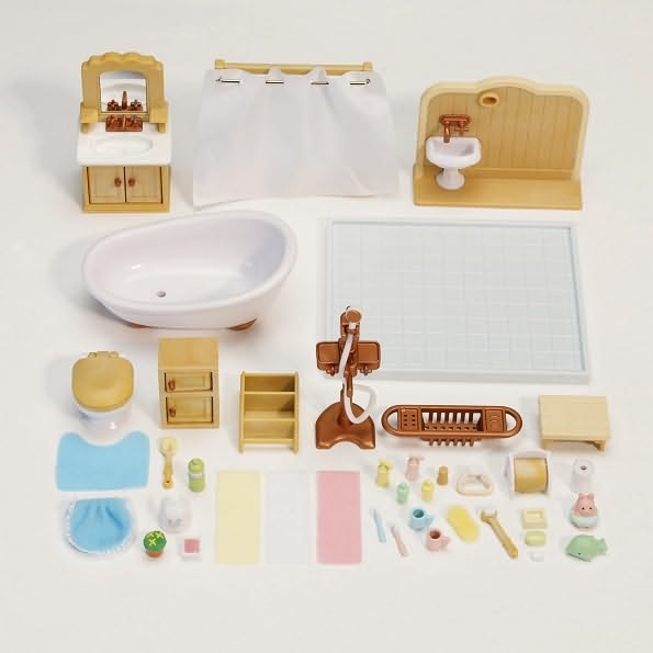 92 best lucy 39 s calico critters images on pinterest - Calico critters deluxe living room set ...
