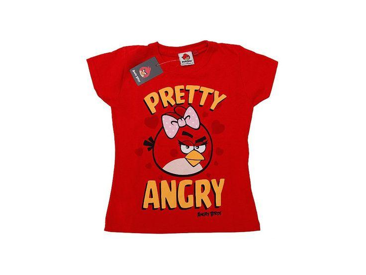 Triko Angry Birds pro holky.