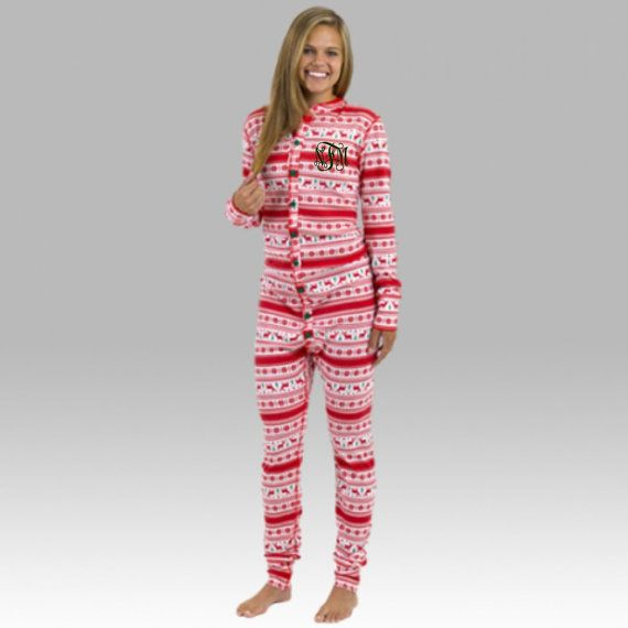Our Monogrammed Christmas Bodysuit is perfect for this holiday season!! With a drop seat, and full button front, these are super comfy and are the perfect Christmas pajamas for women!  {Item Details} 6.7 oz., 80/20 poly/cotton 1x1 rib Full-button front Self-fabric sleeve and pant cuffs Backdrop seat Unisex fit Adult Sizes XS-2X >Please see our size chart within this items listing photos for exact measurements. These run true to size, and sizing is a roomy unisex fit. Please be sure to check…
