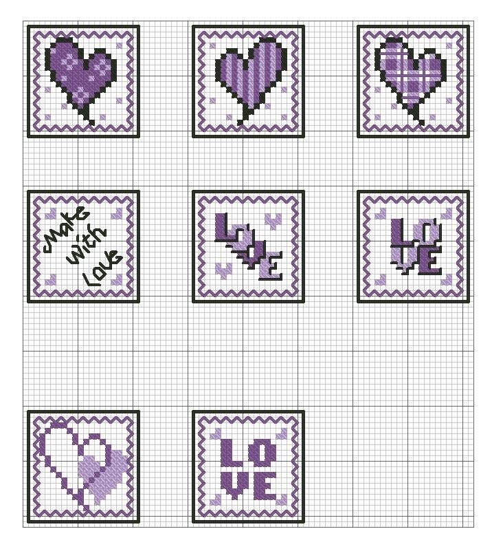 Hearts cube