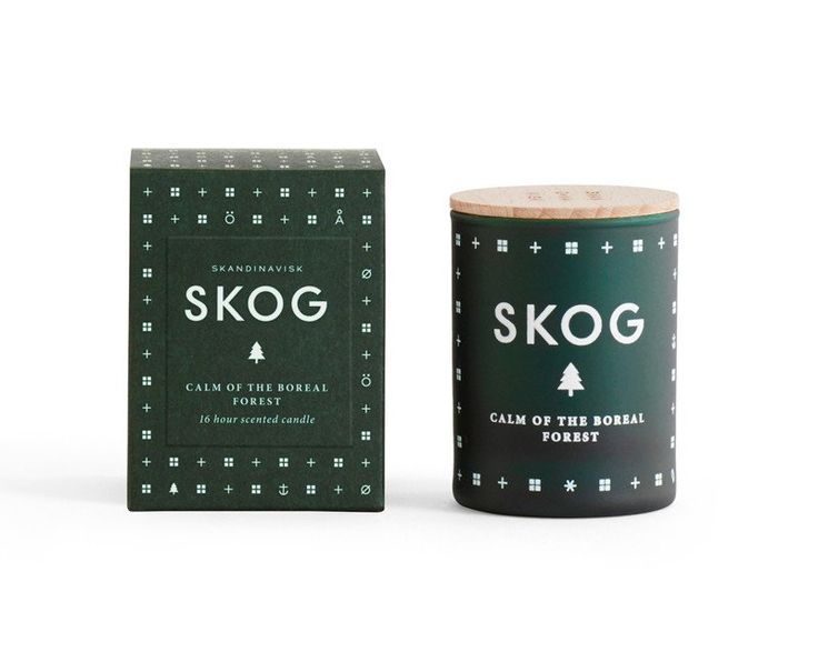 SKOG Mini Scented Candle (forest)