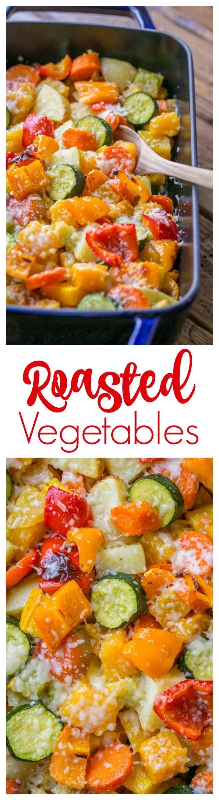 Roasted Veggie Mix | butternut squash, potatoes, zucchini, carrots and bell peppers.