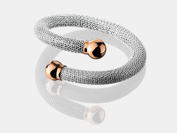 The spearhead of Adami & Martucci. Adami & Martucci are renown for their innovation in silver mesh jewelry.