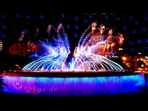 Montjuic Magic Fountain - Barcelona - YouTube
