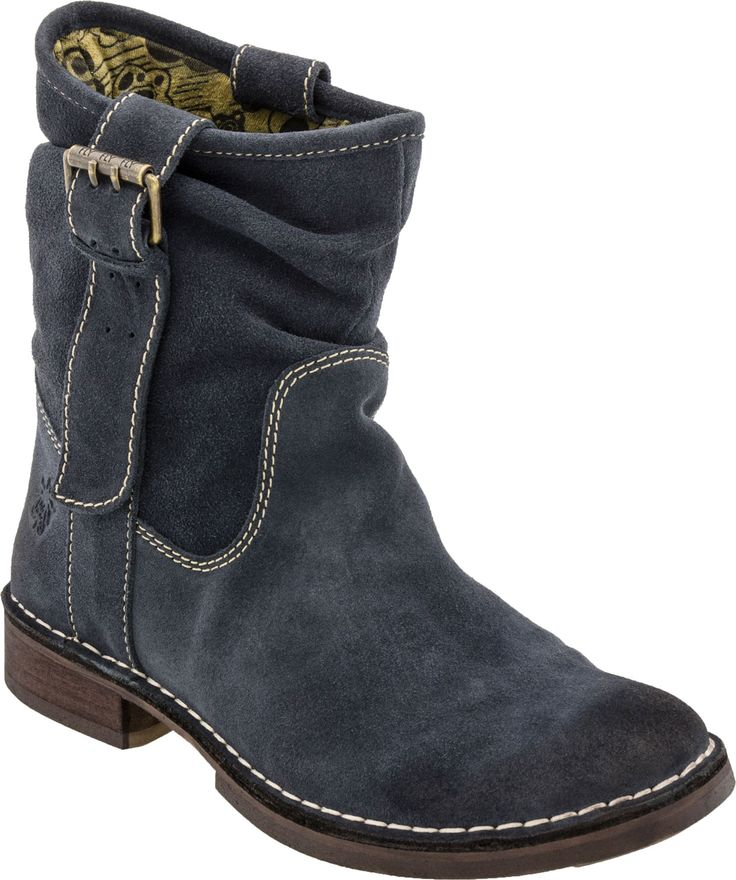 Fly London soars with these great blue ankle boots