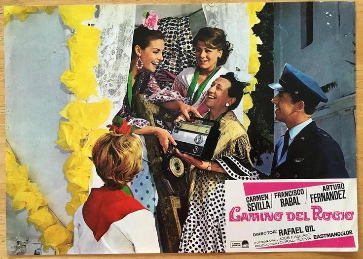 Gorgeous  Carmen Sevilla 1966 Camino del Rocío lobby card 337