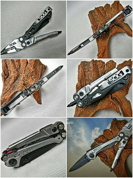 SOG Reactor EDC Everyday Carry Multi Tool with Knife - EDC Pocket Tool