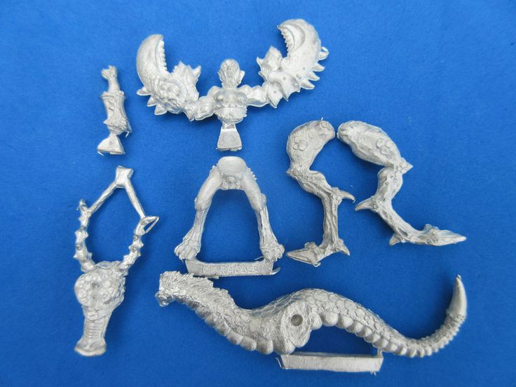 http://stores.ebay.co.uk/zambishop Warhammer Daemonette on Mounts of Slaanesh OOP Metal Citadel Games Workshop
