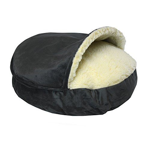 """#Snoozer #Orthopedic #Luxury #Micro #Suede #Cozy #Cave #Pet #Bed in #Anthracite #Luxury #Micro #Suede Fabrics 3"""" #Orthopedic Foam core and 2 layers of additional batting Sherpa interior https://travel.boutiquecloset.com/product/snoozer-orthopedic-luxury-micro-suede-cozy-cave-pet-bed-in-anthracite/"""
