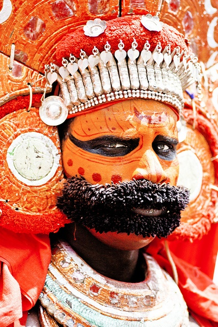 Theyyam at Onam Athachamayam Tripunithura Kerala by Poonam Parihar, via Flickr
