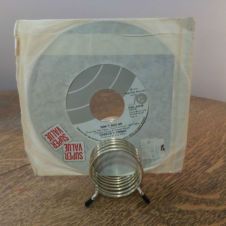 Cheech Y Chong Basketball Jones/Dont Bug Me 45 7in ODE-66077 1973 A n M Comedy #ComedyNoveltyMusic