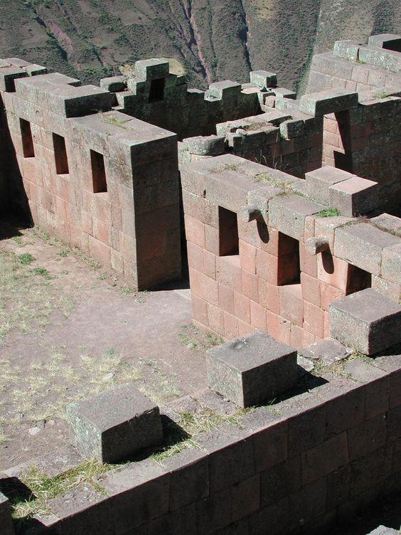 incan complex, cusco - sacsayhuaman, peru: