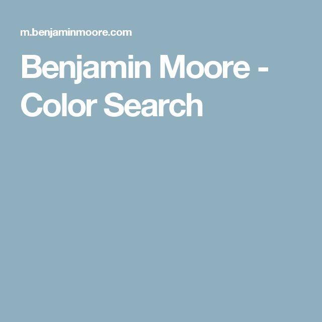 Benjamin Moore - Color Search