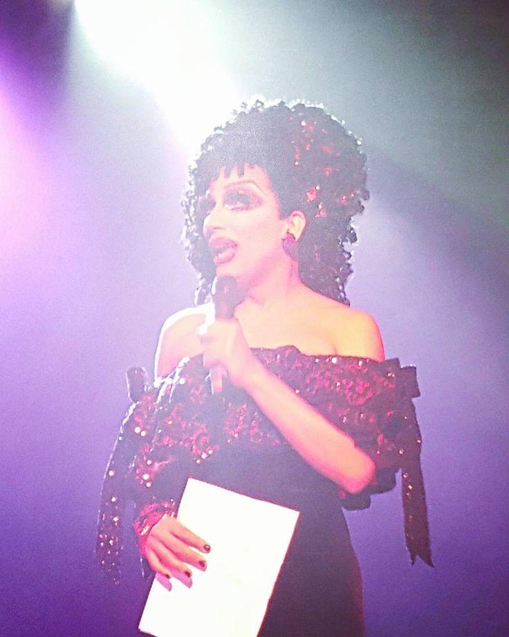 Miss Bianca Del Rio at the season eight RuPaul's Drag Race premier at Mezzanine in San Francisco!  #biancadelrio #drag #rupaulsdragrace by art_sed