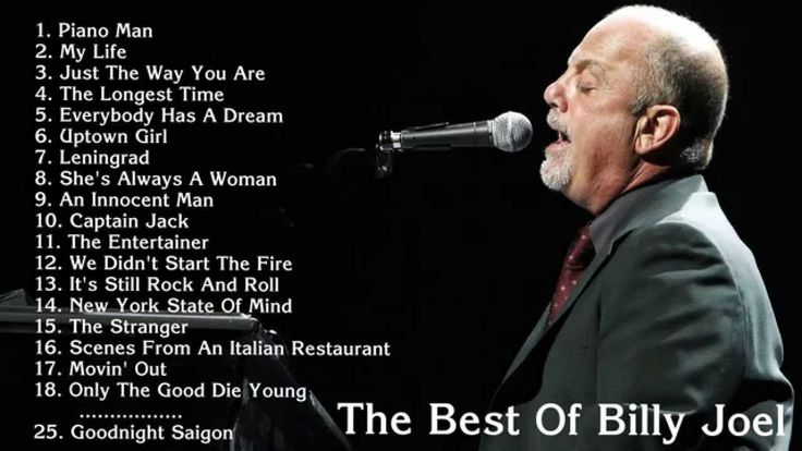 BILLY JOEL: 25 Best Songs Of Billy Joel   ~☆~