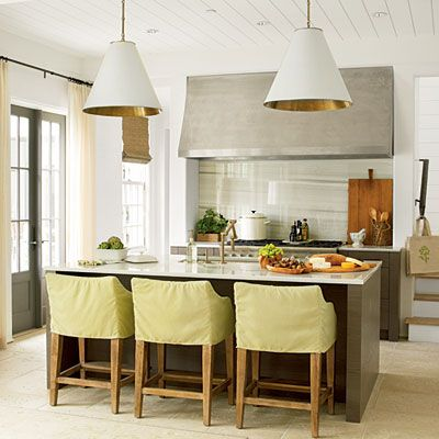 Interior designer Erika Powell gives a sneak peek inside this year's house in Rosemary Beach, Florida.